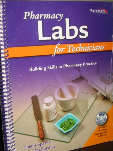 PHARMACY LABS F/TECHNICIANS-W/ N/A 9780763834869 Front Cover