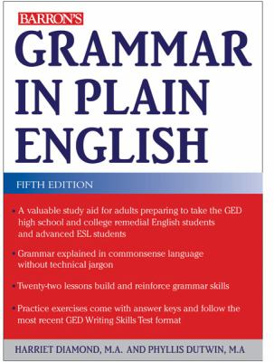 Grammar in Plain English  5th 2012 (Revised) edition cover