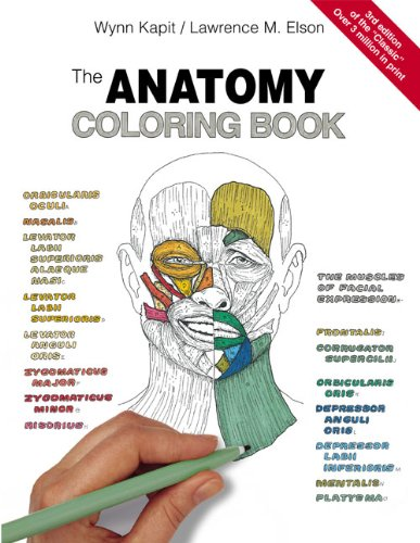 Anatomy Coloring Book  3rd 2002 (Revised) edition cover