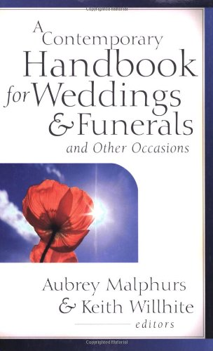 Contemporary Handbook for Weddings and Funerals and Other Occasions   2003 edition cover