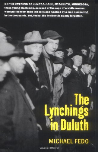 Lynchings in Duluth   2000 edition cover