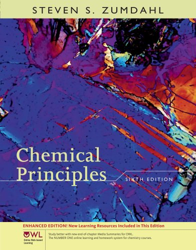 Chemical Principles  6th 2011 edition cover