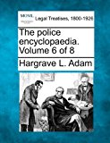 police encyclopaedia. Volume 6 Of 8  N/A 9781240125869 Front Cover