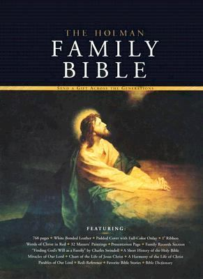 Holman Family Bible   2001 9781558198869 Front Cover