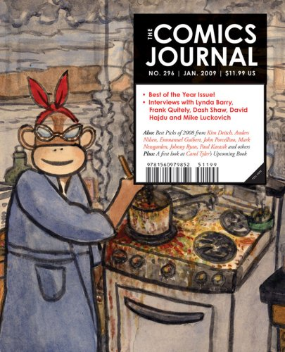 Comics Journal #296  N/A 9781560979869 Front Cover