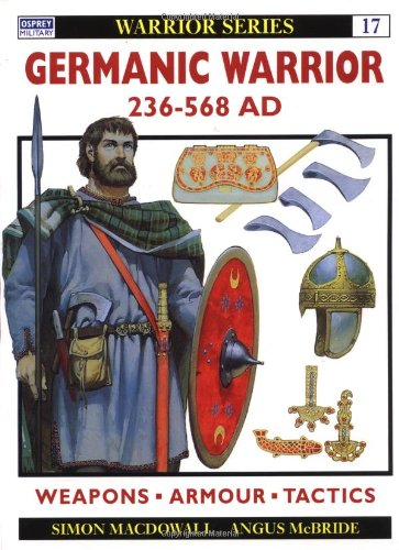 Germanic Warrior AD 236-568   1996 edition cover