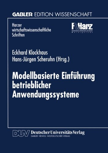 Modellbasierte Einf�hrung Betrieblicher Anwendungssysteme   1997 9783824464869 Front Cover