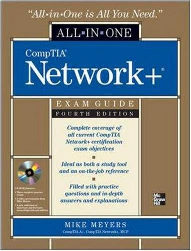 Comptia Network+  4th 2009 edition cover