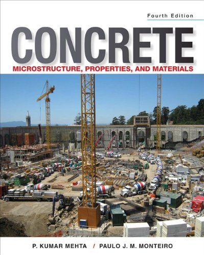 Concrete Microstructure Properties and Materials 4th 2014 edition cover