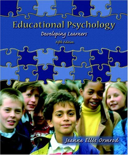 Educational Psychology Developing Learners 5th 2006 (Revised) edition cover