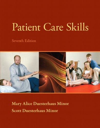 Patient Care Skills:   2013 edition cover