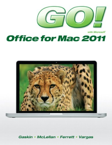 GO! with Mac Office 2011   2013 edition cover