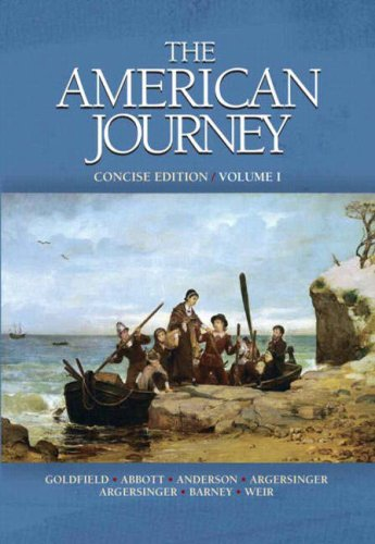 American Journey   2008 edition cover