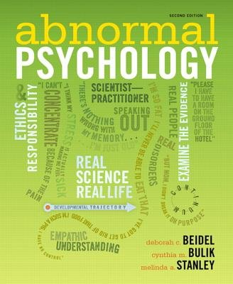 Abnormal Psychology, Books a la Carte Edition  2nd 2012 edition cover