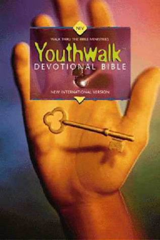 NIV Youthwalk Devotional Bible Daily Devotions for Students 15-18  1997 (Revised) edition cover