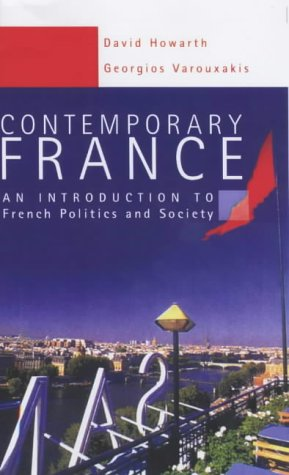 Contemporary France Introduction to French Politics and Society  2003 edition cover