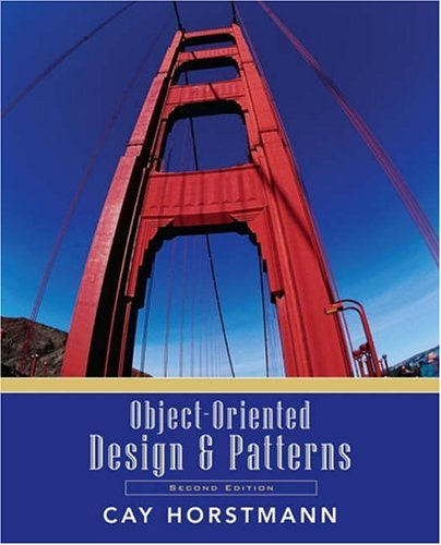 Object-Oriented Design and Patterns  2nd 2006 (Revised) edition cover