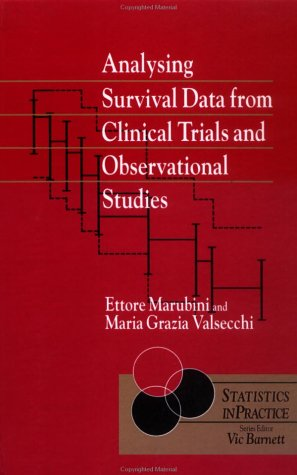 Analysing Survival Data from Clinical Trials and Observational Studies   1995 9780471939870 Front Cover