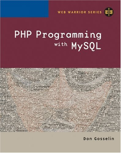 PHP Programming with MySQL   2006 edition cover