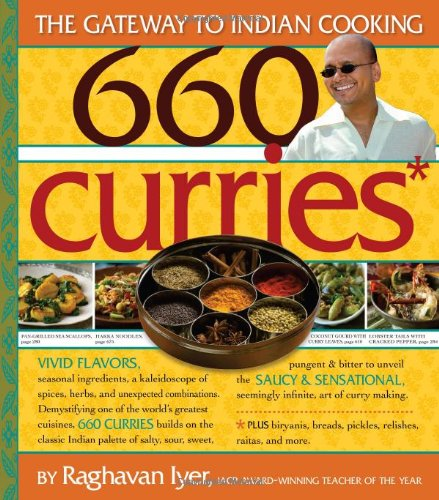660 Curries The Gateway to Indian Cooking  2008 edition cover