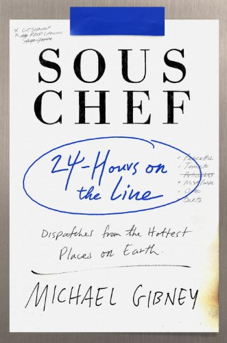 Sous Chef 24 Hours on the Line  2014 edition cover