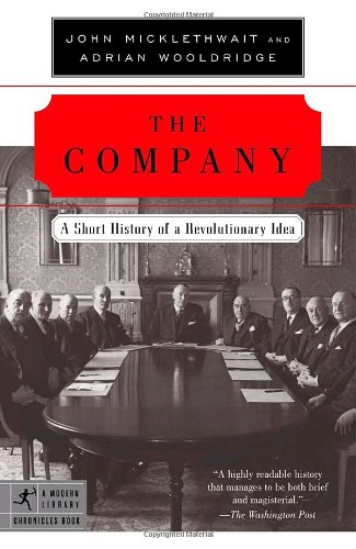 Company A Short History of a Revolutionary Idea N/A edition cover