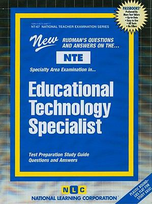 Educational Technology Specialist  2005 edition cover