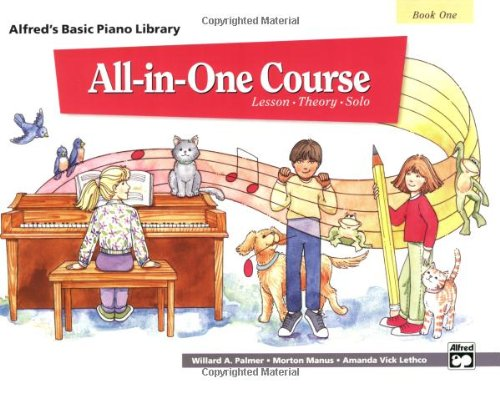 Alfred's Basic All-in-One Course for Children, Bk 1   1994 edition cover