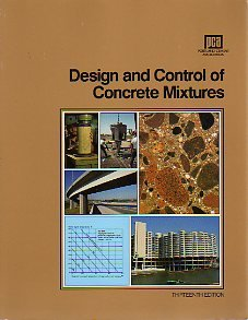 Design and Control of Concrete Mixtures 13th (Revised) edition cover