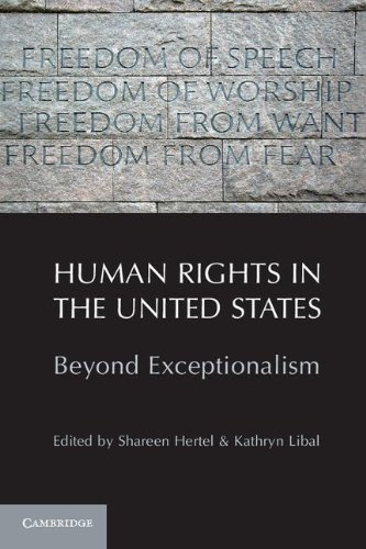 Human Rights in the United States Beyond Exceptionalism  2011 9781107400870 Front Cover