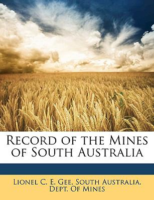 Record of the Mines of South Australi  N/A edition cover