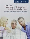 Mcgraw-hill's Taxation of Individuals and Business Entities 2016:   2015 edition cover