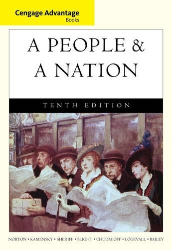 A People and a Nation: A History of the United States  2014 edition cover