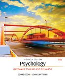 Introduction to Psychology: Gateways to Mind and Behavior  2015 edition cover