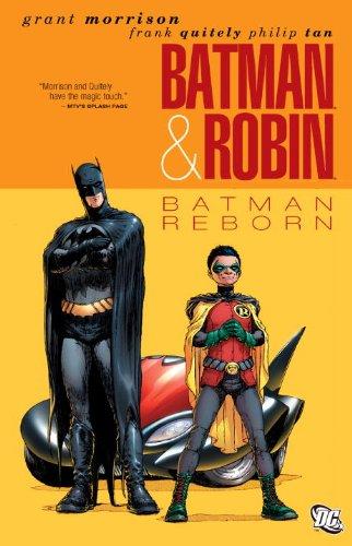 Batman and Robin Vol 1 Batman Reborn   2011 9781401229870 Front Cover