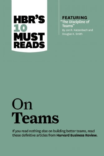 HBR's 10 Must Reads - On Teams   2013 edition cover