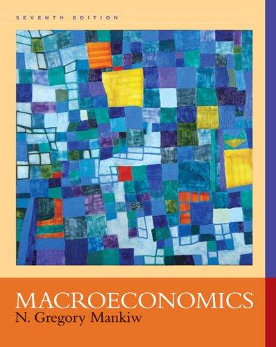 Macroeconomics  7th 2010 edition cover