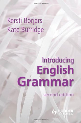 Introducing English Grammar  2nd 2010 (Revised) edition cover