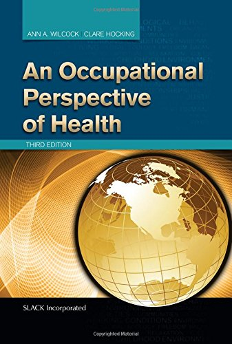 Occupational Perspective of Health  3rd 2015 edition cover