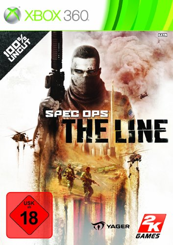SPEC OPS: THE LINE Xbox 360 artwork