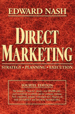 Direct Marketing Strategy, Planning, Execution 4th 2000 (Revised) edition cover
