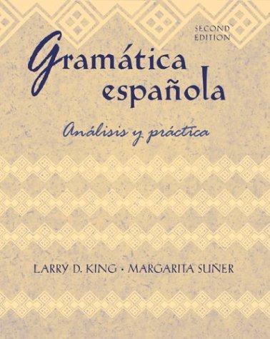 Gram�tica Espa�ola An�lisis y Pr�ctica 2nd 2004 (Revised) edition cover