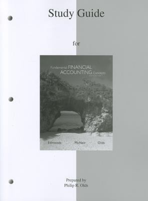 Study Guide for Fundamental Financial Accounting Concepts  8th 2013 edition cover