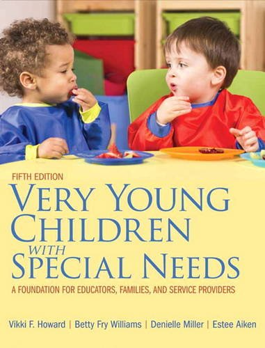 Very Young Children with Special Needs: A Foundation for Educators, Families, and Service Providers, Pearson eText - Access Card  2014 edition cover