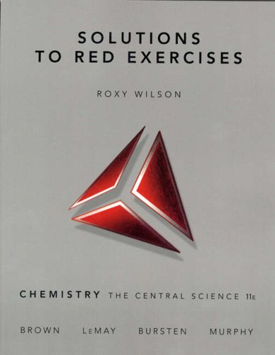 Solutions to Red Exercises  11th 2009 edition cover