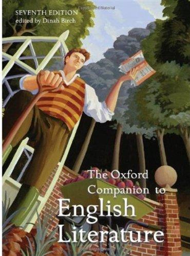 Oxford Companion to English Literature  7th 2009 edition cover
