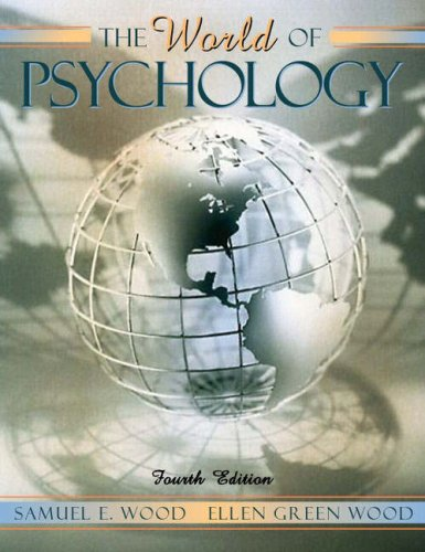WORLD OF PSYCHOLOGY-TEXT (PAPE N/A edition cover
