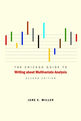Chicago Guide to Writing about Multivariate Analysis  2nd 2013 edition cover