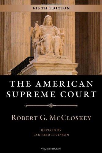 American Supreme Court  5th 2010 edition cover