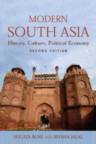 Modern South Asia History, Culture and Political Economy 2nd 2003 (Revised) edition cover